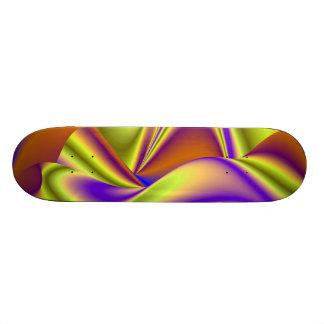 Abstract Rainbow Skateboard Deck