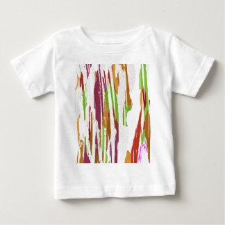 Abstract Rainbow Splash Design Baby T-Shirt