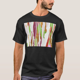 Abstract Rainbow Splash Design T-Shirt