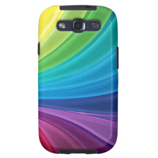 Abstract Rainbow Swirl  Samsung Galaxy S Case