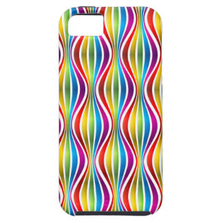 Abstract Rainbow Wave iPhone SE/5/5s Case