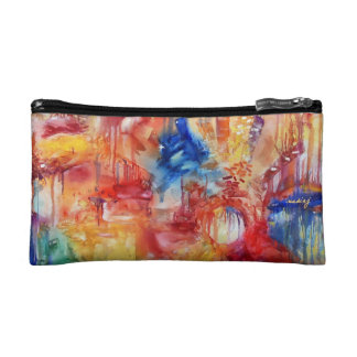 Abstract Rainbows Bag Cosmetic Bag