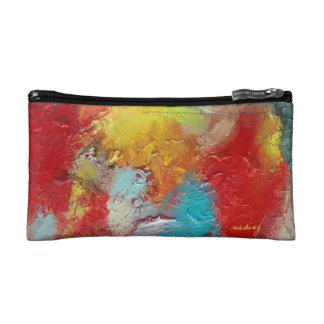 Abstract Rainbows Bag Cosmetics Bags