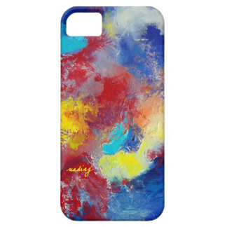 Abstract Rainbows II Colorful Phone Case iPhone 5 Cases
