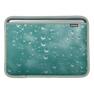 Abstract raindrops MacBook air sleeves