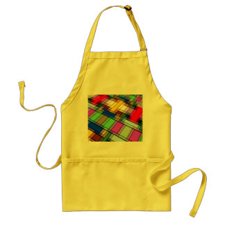 Abstract Rectangles Adult Apron