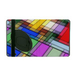 Abstract Rectangles iPad Cover