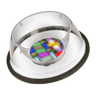 Abstract Rectangles.jpg Pet Bowl