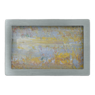 Abstract Rectangular Belt Buckle