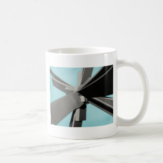 Abstract Rectangular Slabs Coffee Mug