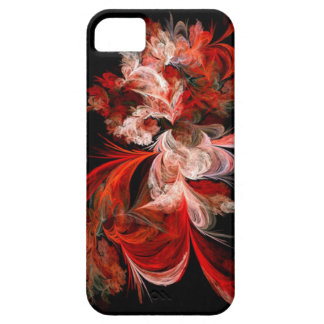 Abstract Red and Pink Swirls iPhone 5 Case