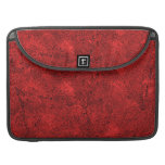 Abstract Red Background MacBook Pro Sleeve