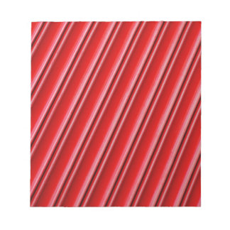 Abstract red background notepad
