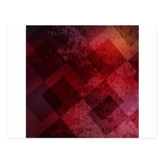 Abstract red background postcard