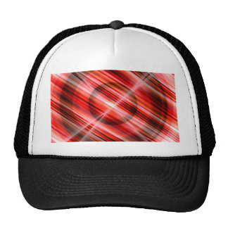 abstract red circle by Tutti Trucker Hat