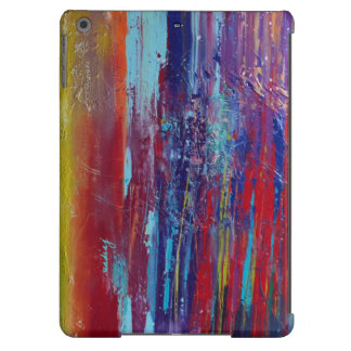 Abstract Red Colorful Case Cover For iPad Air