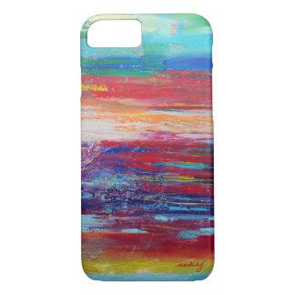 Abstract Red Colorful Phone Case