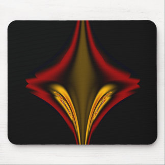 Abstract Red Diamond Mouse Pad