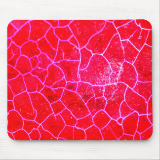 Abstract Red Dragon Vein Agate Pattern Mousepad