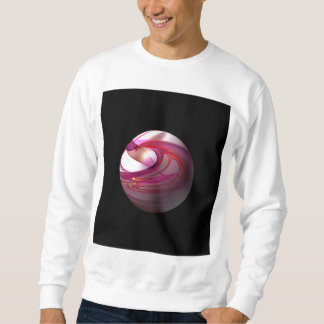 Abstract Red Globe Sweatshirt