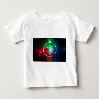 Abstract Red Green Blue Light Focus Baby T-Shirt