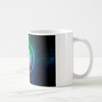 Abstract Red Green Blue Light Focus Coffee Mug