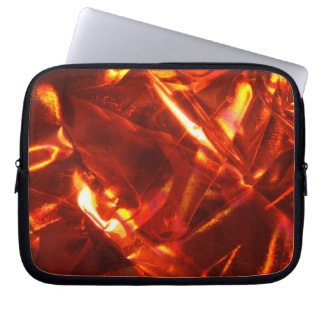 Abstract Red Laptop Bag Computer Sleeve