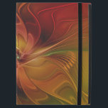 """Abstract Red Orange Brown Green Fractal Art Flower iPad Pro 12.9&quot; Case<br><div class=""""desc"""">Modern and abstract Fractal Art with a lot of warmth. Design for your iPad case and more.</div>"""