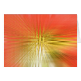 Abstract red tulip card