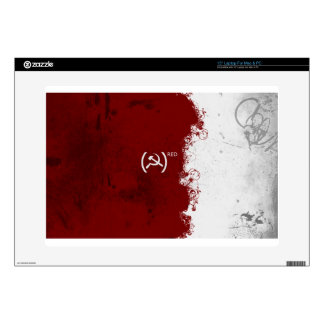 "Abstract Red USSR Soviet 15"" Laptop Skins"