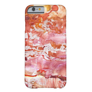 Abstract Red Whispers Phone Case