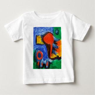 Abstract red Zero Baby T-Shirt
