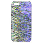 Abstract reeds In purple and white colors iPhone 5C Cover