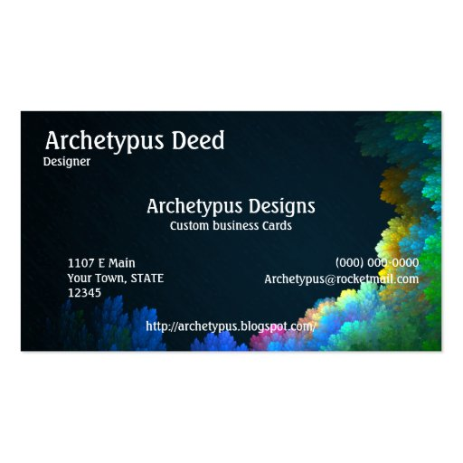 Abstract Reef Business Card V.1