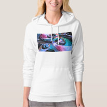 Abstract Reflecting Rings Hoodie