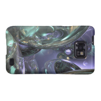 Abstract Reflection Design Galaxy SII Cover