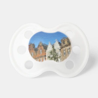 Abstract reflections pacifier