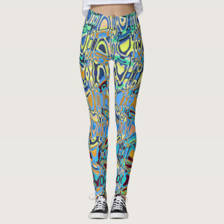 Abstract Repression Leggings