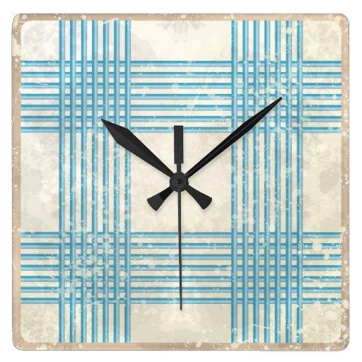 Abstract retro background wall clocks