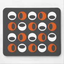 Abstract Retro Modern Spheres Mousepad