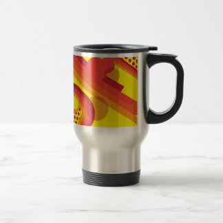 Abstract retro mug