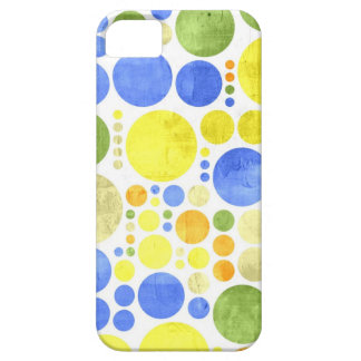 Abstract Retro Polka Dots | Abstract Painting iPhone SE/5/5s Case