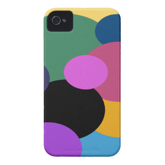 abstract retro polka dots iPhone 4 Case-Mate cases