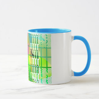 Abstract, Retro, Pop Mug