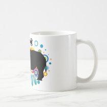 Abstract Rhino Mug