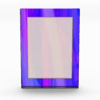 Abstract Ribbons of Blue and Violet Award