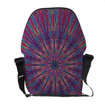 Abstract  Rickshaw Messenger Bag