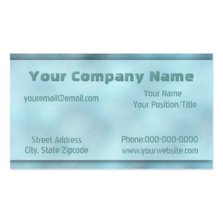 Abstract Rippled Glass Business Card