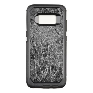 Abstract Rippling River Water, Black & White Photo OtterBox Commuter Samsung Galaxy S8 Case