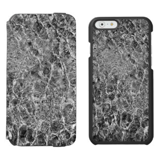 Abstract River Water Ripples iPhone 6/6s Wallet Case